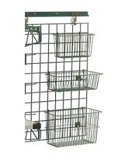 basket wire shelving